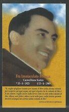 image pieuse de Fray Brienza  holy card santino estampa