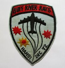 Patch_ US Air Force Bombing Ops BUFF RIVER RATS, HA NOI December 1972 Patch