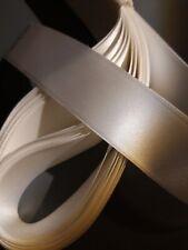 3 X 1 Mètre Longueurs De Différentes Couleurs Large Ruban Satin 70 mm Off Coupes Bundle