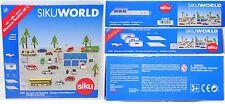 Siku WORLD 5589 Garagen und Parkplatz mit Wiesmann in weiß