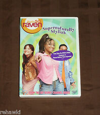 That's So Raven - Supernaturally Stylish (DVD, 2004) BRAND NEW KIDS DISNEY DVD