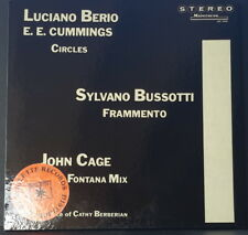 MAINSTREAM MS 5005 LUCIANO BERIO - S. BUSSOTTI - JOHN CAGE CATHY BARBERIAN 1970