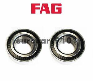 BMW 325xi 528xi 535xi FAG (2) Front Wheel Bearings 31226783913 805621
