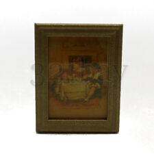 Puppenhaus Bild & Miniatur Dekoration Masstab 1:12 Gemälde Wanddekoration 1:12