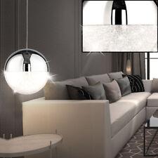 Led sospensione illuminazione naturale lampada cromo sfera salotto ESS camera a