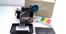 1960s Polaroid Automatic 102 Land Camera w/ Carrying Case Flash Timer Manual ++