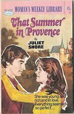 THAT SUMMER IN PROVENCEbyJULIET SHOREWomans Weekly Libraryno.12171975