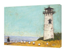 Sam Toft - Seven Sisters and a Lighthouse 40x50cm Canvas Print Wall Art WDC94490