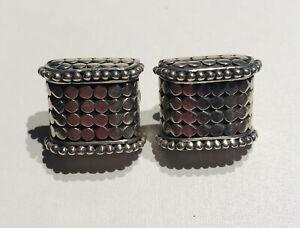 John Hardy Sterling Silver Kali Square Earrings