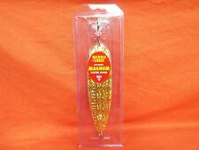 """NICHOLS LURES 8"""" Ben Parker Magnum Spoon #8FS3-35 Gold Shattered Glass"""