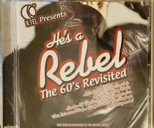 He's A Rebel The 60's Revisited CD Brand New Ships Free USPS Media Mail
