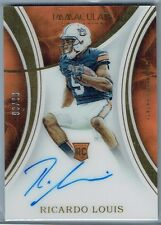 2016 IMMACULATE COLLECTION COLLEGIATE #137 RICARDO LOUIS AU RC #90/99