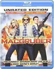 MacGruber (Blu-ray) Val Kilmer, Kristen Wiig, Will Forte NEW