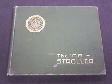 1908 THE STROLLER LOMBARD COLLEGE YEARBOOK - GALESBURG ILLINOIS - PHOTOS- YB 892