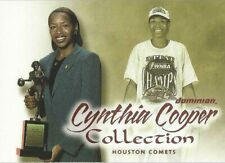 2000 WNBA FLEER DOMINION * CYNTHIA COOPER COLLECTION * CARD #6  THE SECOND YEAR