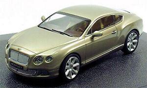 Bentley New Continental Gt Coupe 2011-15 Pearlsilber Metallic 1:43 Minichamps