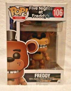 Funko Pop Five Nights at Freddy's - Freddy MIB 106