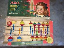 (13) Vintage Noma Bubble Lites Lights original Box! (2) Rare Purple!