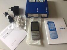 Nokia  C3-01 - Silber (Ohne Simlock) 100% Original !! Neu !!