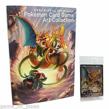Pokemon Card Art Collection Book with Sealed Charizard EX Special Card NEW