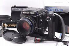 【MINT】 Mamiya RZ67 Pro IID II D w/ Sekor Z 110mm f/2.8 W Lens + Grip + Film Back