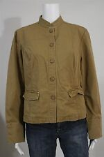 Mossimo Juniors XL Tan Beige Tailored Cotton Light Casual Jacket