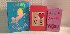 Valentine's Day Gift Book Boxes/Set Of 3