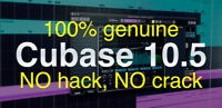 Cubase LE 10.5 genuine 100%, upgradable to Cubase Pro 10.5 for great discount