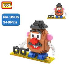 LOZ Cartoon Toy Story Mr Potato Head DIY Mini Diamond Building Nano Blocks Toy