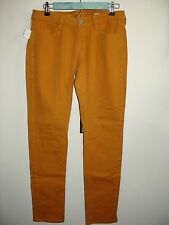 Arizona Jeans Juniors Size 9 (30x30.5) Gold Super Skinny Jeans Stretch 145-10051