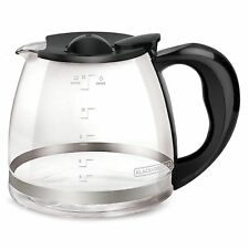 Black & Decker 12-Cup Replacement Carafe w/Removable Carafe Lid - Missing 1 lid