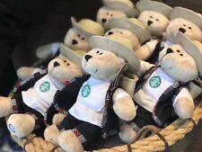 New Starbucks China 2018 Puer City Bearista Bear 1pc