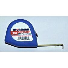 Thorsman Suave Grip 10ft Poder Cinta Métrica-Buena Calidad Cinta 3m ligero