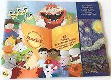 Starfall Cut Up Books Preschool Learn To Read Includes Art Van Gogh Homeschool