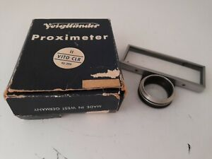 (03-21-1766) Voigtländer Proximeter II 93/297 Vito CLR