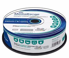 25 MediaRange Doble Capa DVD + R DL doble 8x 8.5 GB Blanco Completo MR474 Imprimible