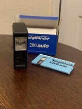 Voigtlander V200 Auto Camera Flash In Box With Instructions