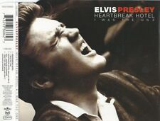 ELVIS CD SINGLE HEARTBREAK HOTEL +3 BONUS TRACKS
