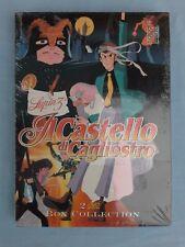 Lupin III Il Castello di Cagliostro Cofanetto 2 DVD Box Collection NUOVO