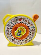 Vintage 1989 Mickey Mouse ABC's Talking See 'N Say Toy By Disney Mattel