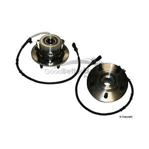 One New GMB Axle Bearing and Hub Assembly Front 7250081 for Ford for Lincoln