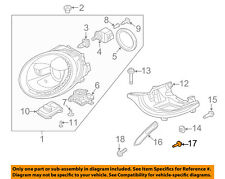 Vw Volkswagen Oem Beetle Headlight Head Light Lamp-Bracket Upper Bolt N91034501
