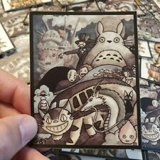 "Totoro 3""x3.75"" Vinyl Sticker Spirited Away"