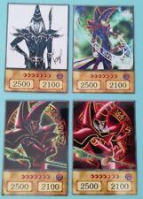 YuGiOh Orica/Anime Style 4x Dunkler Magier/Dark Magician