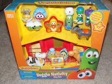 VeggieTales Veggie Nativity Play Set