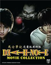 Japan DVD Death Note 5 Movies Collection Series Boxset English Subtitle Region 0