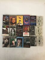 Lot of 18 Miscellaneous Cassette Tapes Jazz Classical Various Artists