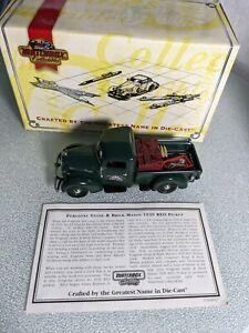 MATCHBOX MODEL'S OF YESTERYEAR  1939 REO PICKUP YYM38041 FORGIONE STONE MASON