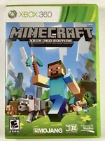 Microsoft Minecraft Xbox 360 Edition Case & Disc Only - FREE SHIPPING