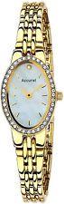 Accurist LB1346P Oval Bracelet MOP Dial Ladies Watch 2 Year Guar RRP £89.99